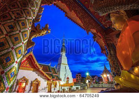 Wat Phra That Choeng Chum.