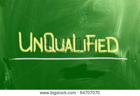 Unqualified Concept