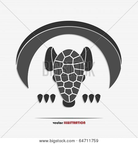 Abstract Armadillo Web Icon