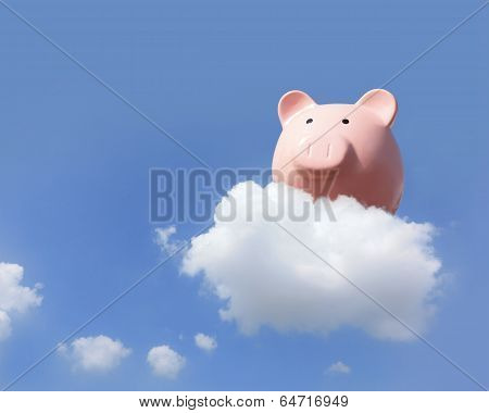 Piggy Bank Flying Free