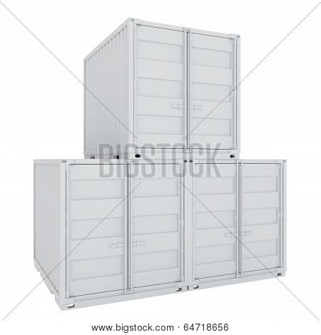 three large container for carriage