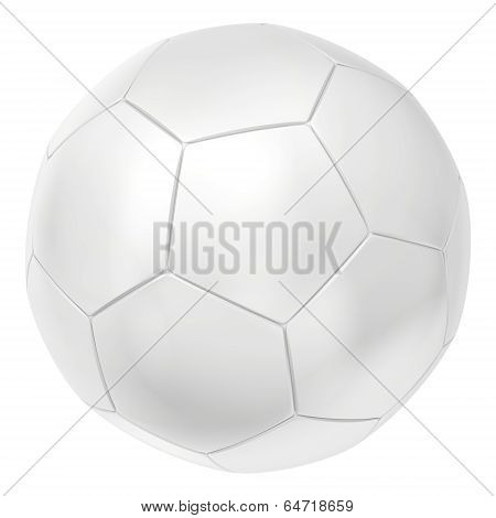 Shiny soccerball