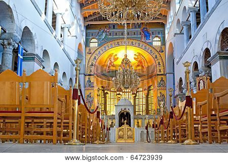 Hagios Demetrios Interior