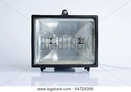 Black Halogen Lantern