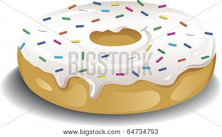 Sprinkled Donut