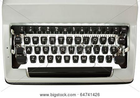 Typewriter Keyboard Backlit