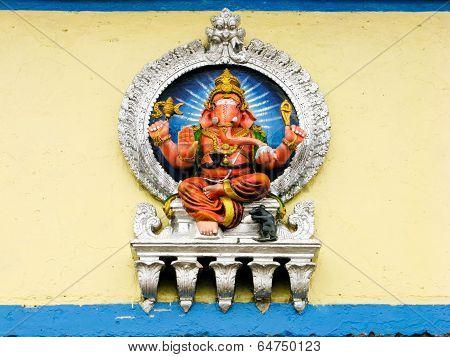 Painted Ganesh