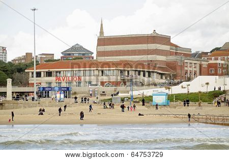 Pavilion Theatre, Bournemouth seaside resort
