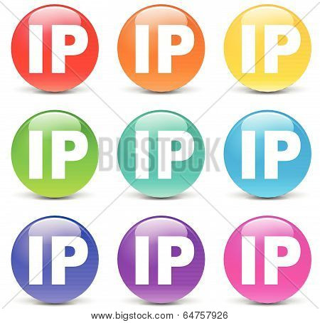 Vector Ip Address Icons