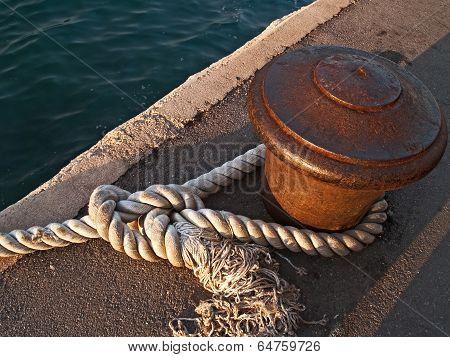 Ship rob in Piran