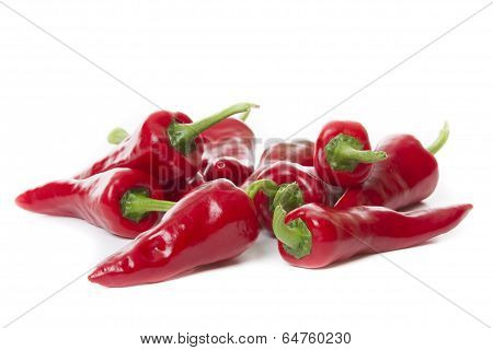 Fresh Pepper Isolated On White Background