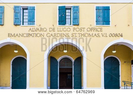 Old Post Office In St Thomas