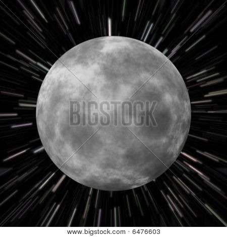 Moon Star Field