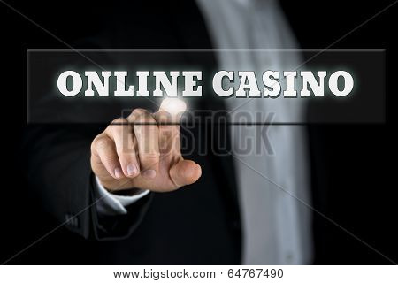 Online Casino In A Web Navigation Bar