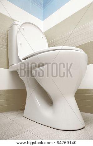 Toilet Viewed From Below