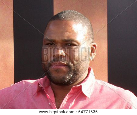 LOS ANGELES - MAY 8:  Anthony Anderson at the