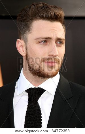 LOS ANGELES - MAY 8:  Aaron Taylor-Johnson at the