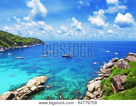 Similan Islands, Thailand, Phuket.