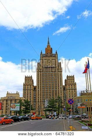 The Ministry Of Foreign Affairs Of The Russian Federation In Moscow