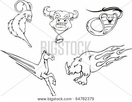 Tattoos - Miscellaneous Animals
