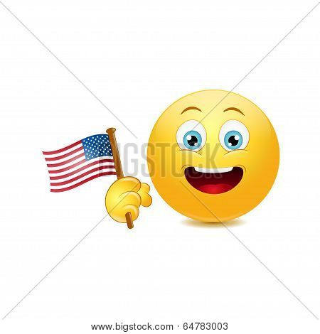Patriot emoticon