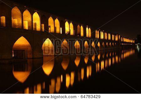 Bridge In Isfahan
