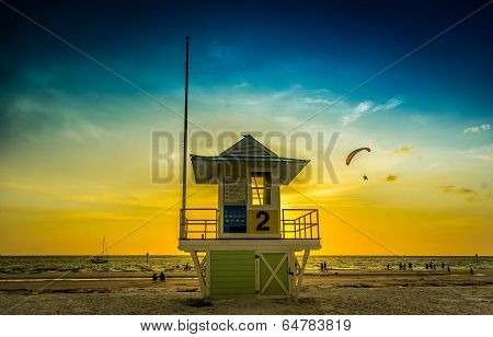 Lifeguard tower #2