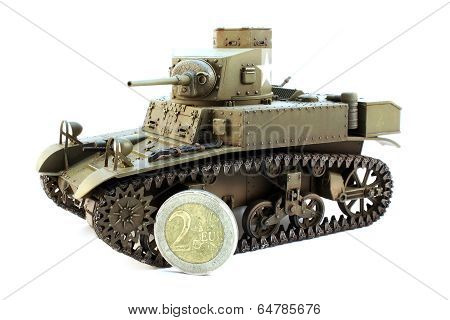 Light Tank M3 With Coin