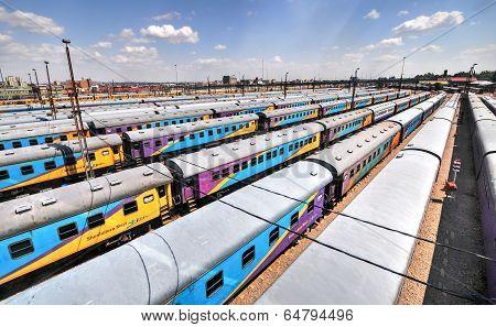 Braamfontein Railway Yards, Johanesburg