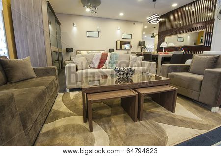 Lounge Furniture In Show Room