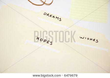 Aspirational File Folders