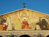 stock photo of gethsemane  - The Church of All Nations or Basilica of the Agony - JPG