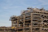 picture of lng  - Liquefied natural gas Refinery Factory with LNG storage tank using for Oil and gas industry