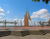 picture of guayaquil  - Malecon 2000 - JPG