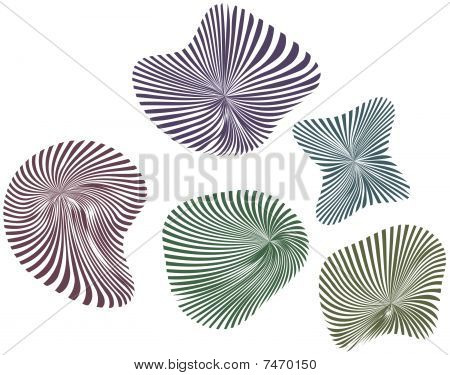 Fossils vector