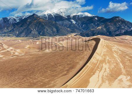 Great Sand Dunes National Park, Colorado,USA