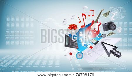 Laptop and business objects