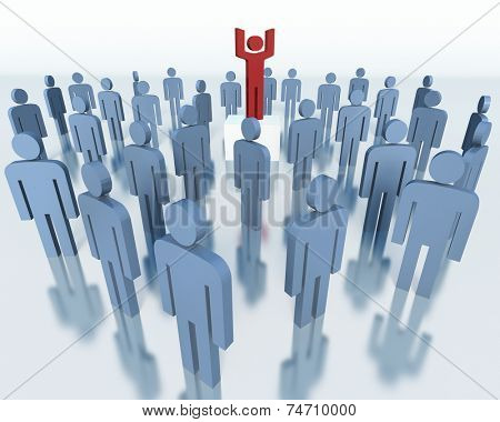 People - business team concept