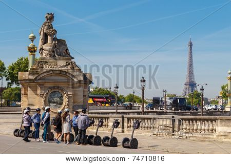 Paris, Place De La Concorde.