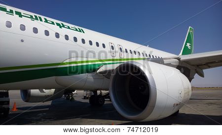 Iraqi Airways plane