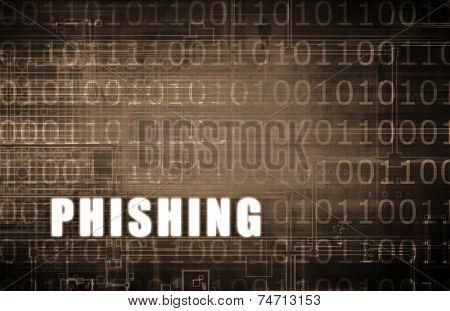 Phishing on a Digital Binary Warning Abstract