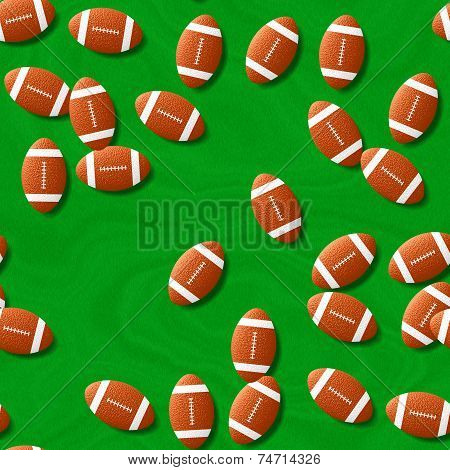 Rugby Seamless Generated Hires Texture