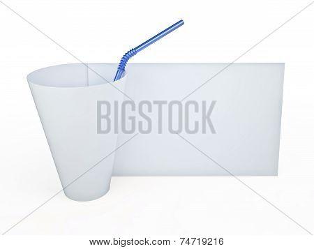 Paper Cup, 3D