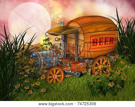 Fantasy Beer Cart