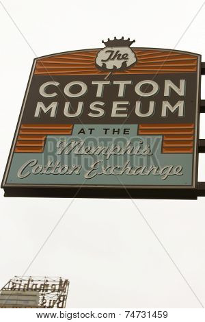 Cotton Museum At The Memphis Cotton Exchange