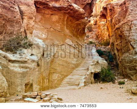 Passage In Petra, Jordan