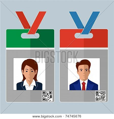 Vector Identification Card