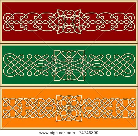 Celtic ornaments and patterns