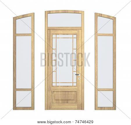 Wood Doorframe