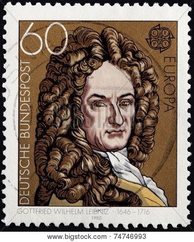 Leibniz Stamp